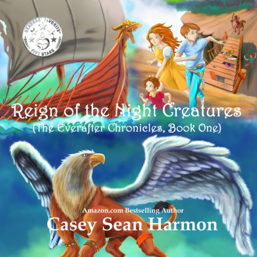 Reign of the Night Creatures audiobook cover art