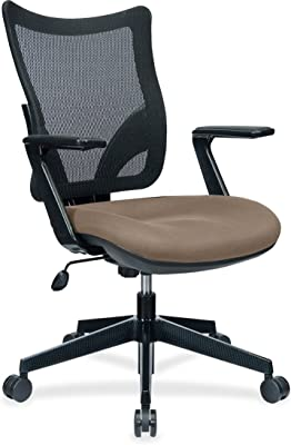 Lorell Task Chair with Mesh Back, Roulette, 40.5 by 20.7 by 19.7-Inch