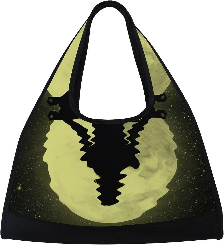 MAPOLO Seven Chakras Travel Duffel Bag Sports Gym Bag Shoulder Bag