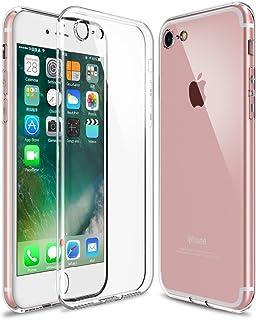 [WOEXET] iPhone SE (第2世代) iPhone 7 ケース iPhone 8 ケース TPU 極薄軽量 透明 滑り防止 指紋防止 ソフト クリア