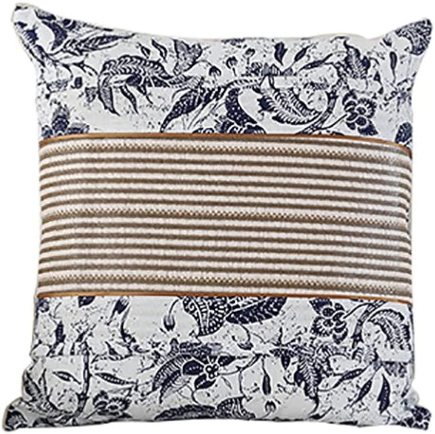 WENJUN Ideal Textiles Set Cushion Covers, Luxury Super Soft Cushions Cover, Luxurious Scatter Throw Cushion Cases (color   bluee ice Silk, Size   40cm40cm)