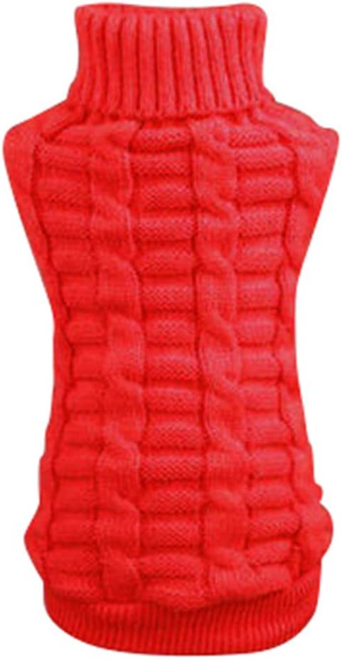 Norbi Small Pet Dog Cat Outdoor Clot Sweater Knitwear Puppy Warm San Francisco Mall Manufacturer regenerated product