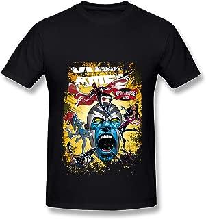 Pandoranice X Men Apocalypse T Shirt for Men Black