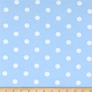 Best baby blue polka dot fabric Reviews