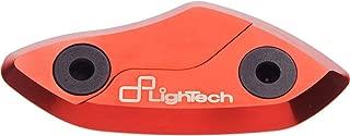 Lightech 08-18 Honda CBR1000RR Mirror Block Off Plates (Red)