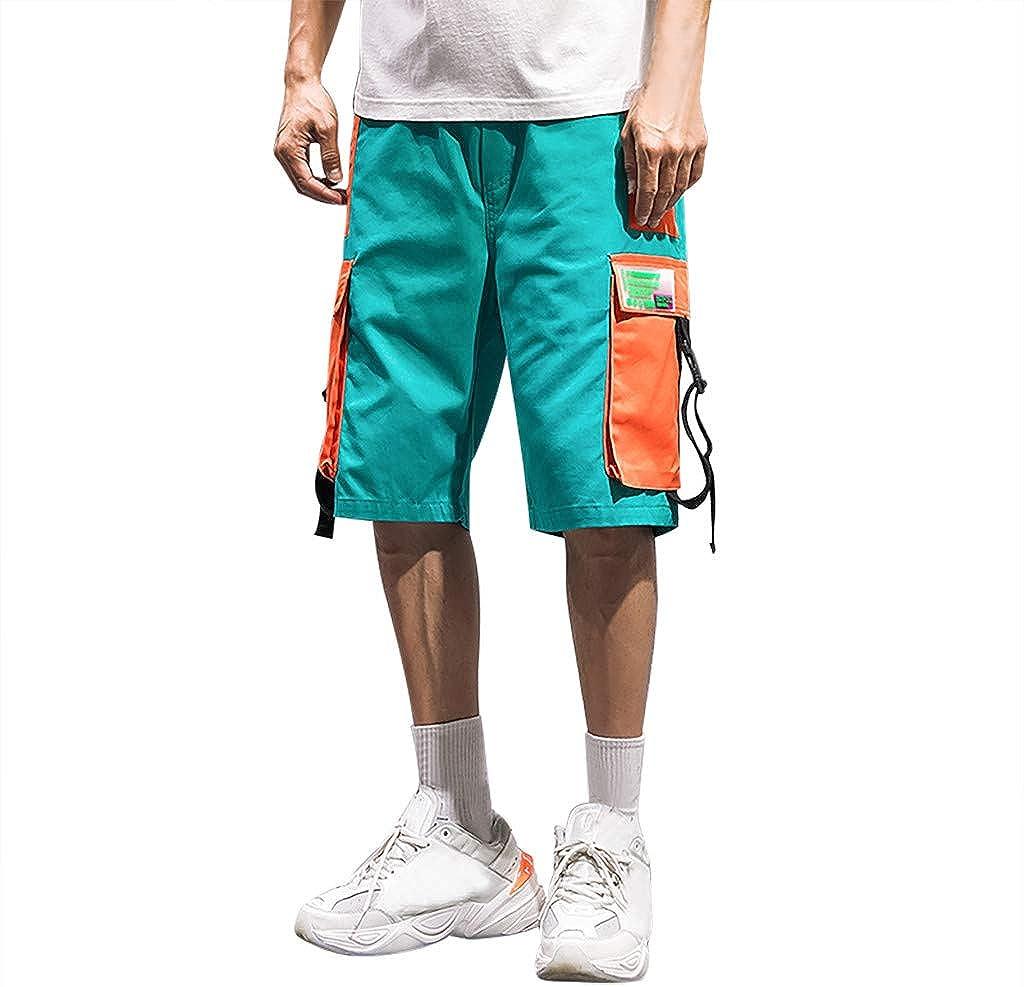 MODOQO Men's Casual Cargo Short Multi Pockets Outdoors Work Trouser Sweatpants