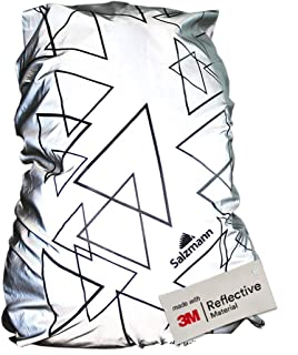 Salzmann 3M Reflective Backpack Cover   High Visibility, Waterproof & Weatherproof   Ideal for Cycling, Running, Hiking & More