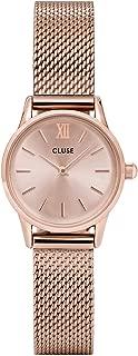 Cluse Women's La Vedette Mesh 24mm Steel Bracelet Metal Case Quartz Analog Watches Collection
