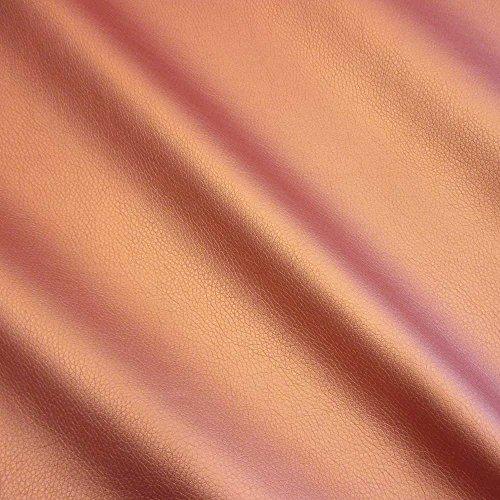 Werthers Stoffe Stoff Meterware Kunstleder Kupfer Lederimitat Nappa Bezugsstoff stabil neu glänzend