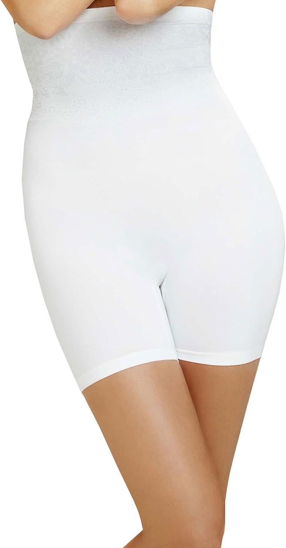 BodyWrap Shapewear White The Catwalk HighWaist Long Leg Panty 49590