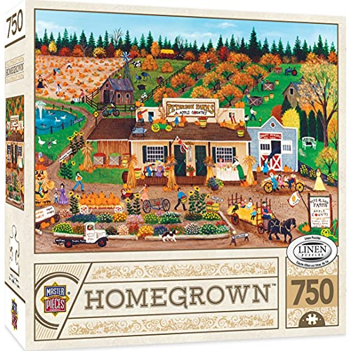 MasterPieces Homegrown 750 Puzzles Collection - Peterson Farms 750 Piece Jigsaw Puzzle ,18'X24'