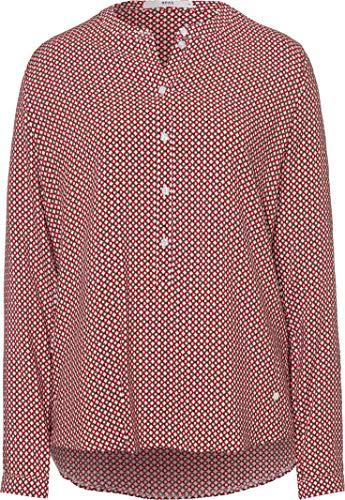 BRAX Damen Style Vanda Stehkragen Modern Bluse, Ruby RED, (Herstellergröße: 36)