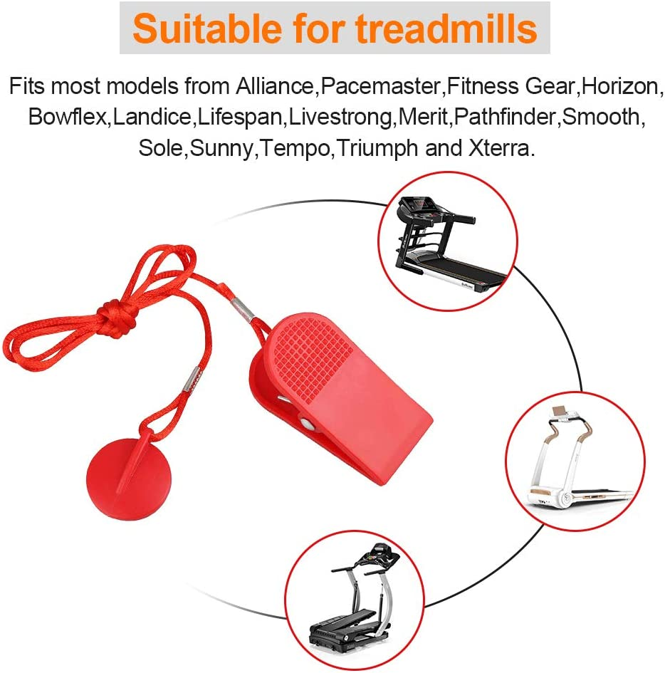 Freemotion Reebok Proform Image Treadmill Universal Magnet Safety Key for All NordicTrack Weslo Golds Gym and Healthrider Treadmills Epic