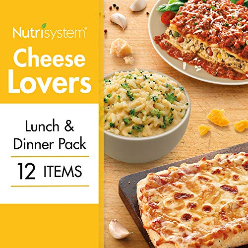 Nutrisystem Cheese Lovers Lunch and Dinner Pack 12CT