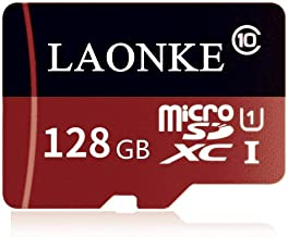ANKKE 128GB Micro SD Card High Speed Class 10 Flash Memory Card with SD Card Adapter