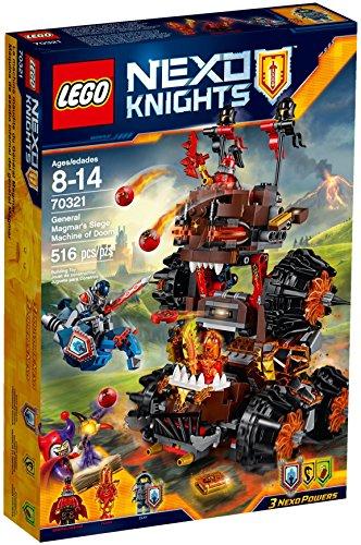 Lego Nexo Knights 70321 - Set Costruzioni La Macchina D Assedio del Generale Magma