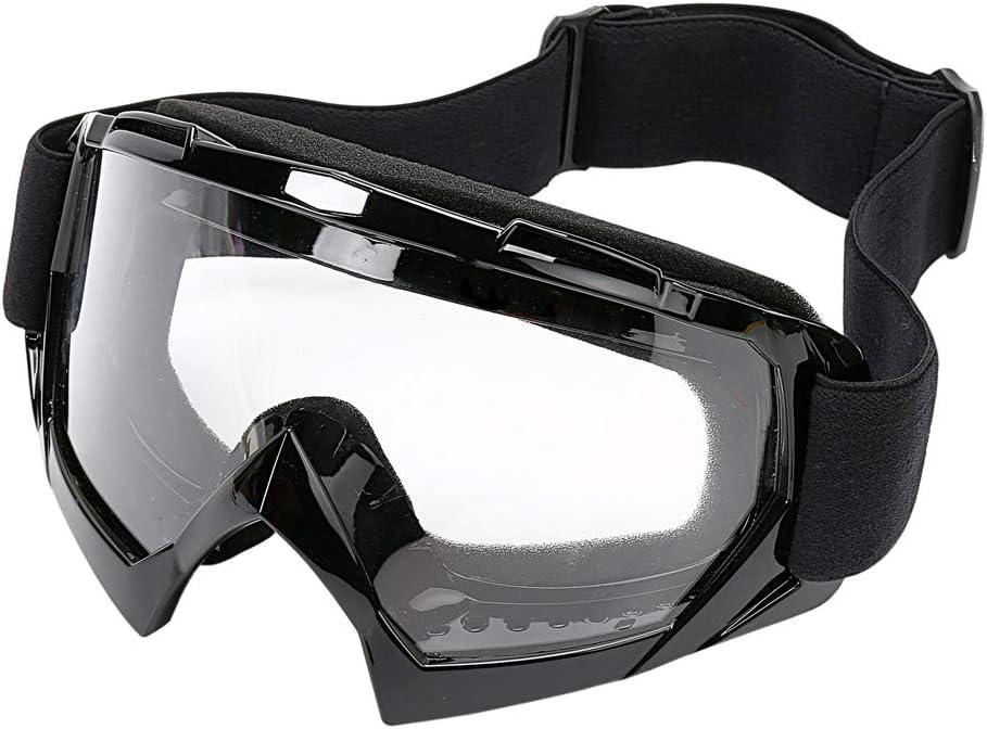 LJDJ Motorcycle Goggles OFFicial shop -Dirt Bike Eyewear Long-awaited ATV Anti-UV Motocross