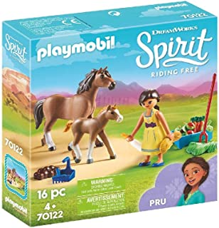 Playmobil Pru with Horse and Foal, Multicolour, 70122