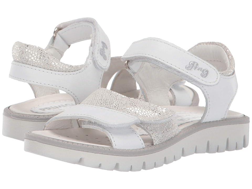 Primigi Kids PAX 33907 (Toddler/Little Kid) (White) Girls Shoes