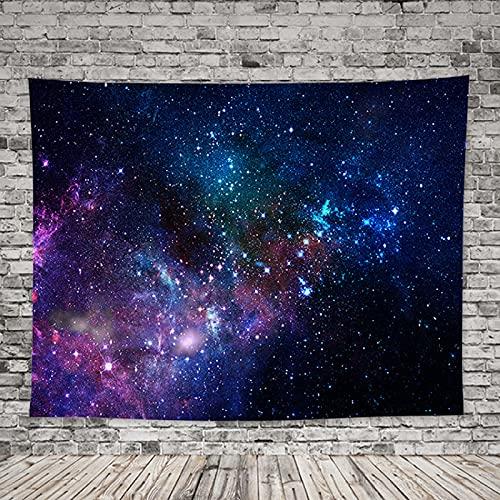 DSman Paisaje de Cielo Estrellado Pinturas Colgantes Tela de Fondo de Tela Colgante