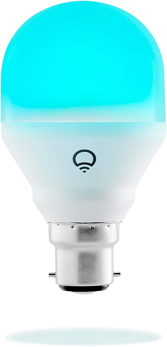 4111 opinioni per LIFX Mini B22 Lampadina a LED Wi-Fi Smart, Regolabile, Multicolor, Dimmerabile,