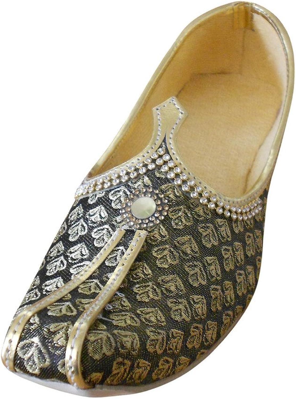 Kalra Creations Men's Mojari Traditional Indian Jutti Wedding shoes