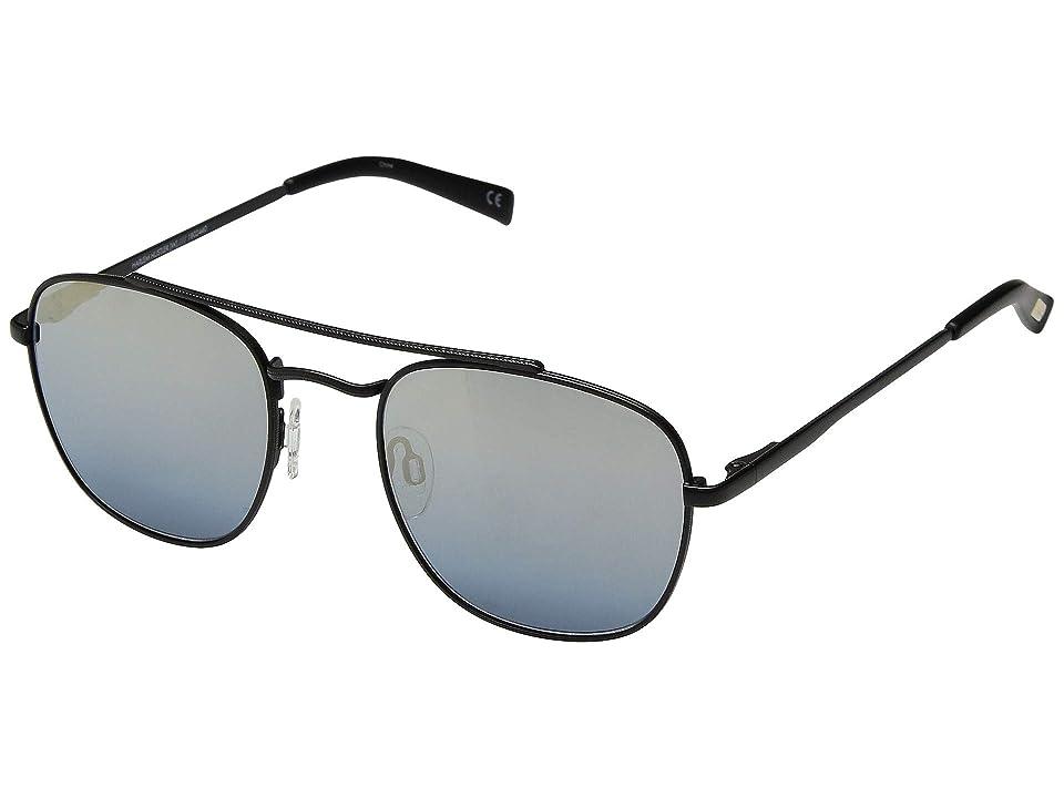 Le Specs Harlem Hustler (Matte Black) Fashion Sunglasses