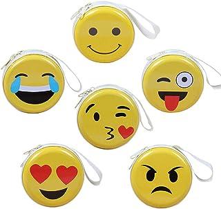 Emoji Mini portamonete per bambini, portamonete portamonete portamonete portamonete, cuffie, pacchetto di archiviazione ca...