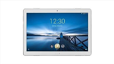 Lenovo Tab P10 (TB-X705L), 10.1 inch Tablet, Qualcomm Snapdragon 450 Processor, 4GB RAM, 64GB Storage, WiFi+4G LTE, Android OS, Sparkling White - [ZA450128AE]