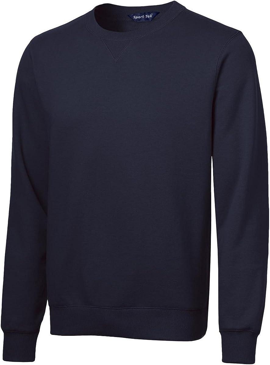 Sport-Tek Mens Crewneck Sweatshirt, 4XL, True Navy