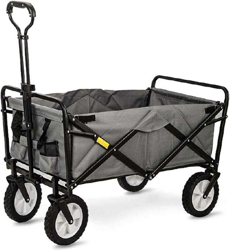Carrito de Mano Carro de Camping al Aire Libre Trolley ...