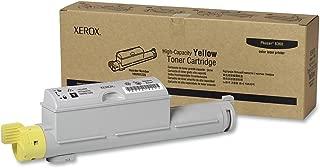 Xerox 106R01220 Phaser 6360 Toner Cartridge (Yellow) in Retail Packaging