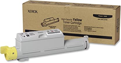 Xerox 106R01220 Phaser 6360 Toner Cartridge (Yellow) in Retail Packaging