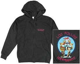 Isaac Morris Breaking Bad - Los Pollos Hermanos Zip Hoodie Sweatshirt
