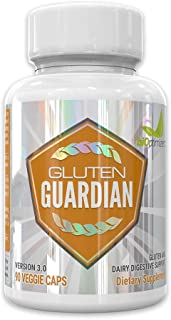 Gluten Guardian 3.0 - A Digestive Enzyme Supplement for Gluten Digestion - Contains DPP-IV to Digest Wheat, Barley & Other...