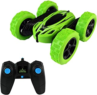 RC Cars for Kids Voberry Remote Control Car 360 Rotating 4WD Off Road Double Sided Rotating Tumbling - 2.4Ghz High Speed Rock Crawler Vehicle Headlights Children Birthday Gifts RC Car for Kids
