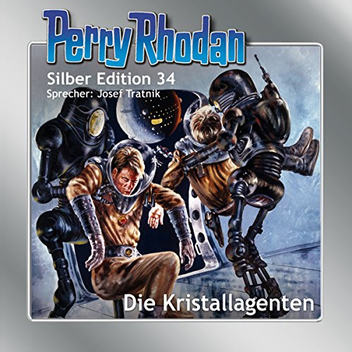 Die Kristallagenten audiobook cover art