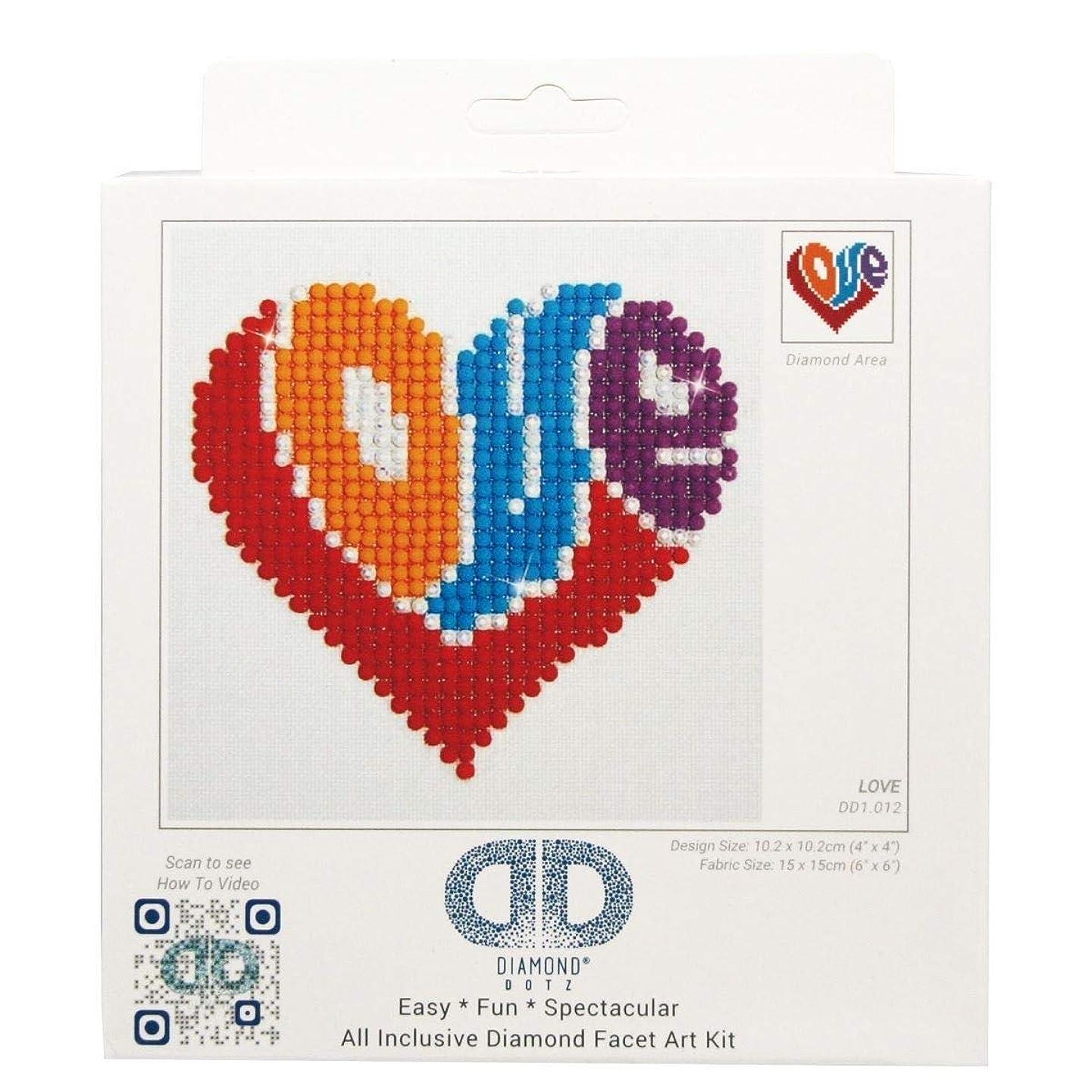 Needleart World Love Diamond Embroidery Kit, None