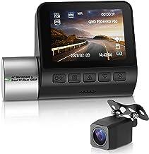 $137 » ilikfe Radar Detector 2K 4K HD Dash Cam Night Vision Video Recorder Rear Dash Camera Dual Sight Cam WiFi Hidden Video Came...