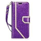 FYY Handyhülle für Samsung Galaxy S9 Hülle,Samsung S9 Brieftasche Tasche Leder, PU Flip Cover mit Cash Card Slots, Ständer Funktion & Magnetverschluss für Galaxy S9 Schutzhülle (2018) 5.8 Zoll