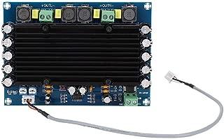 Tangxi Stereo Hi-Fi Digital Amp, 2x150W 12V-24 V Dual Channels Super Power Digital Audio Amplifier Board with High Efficiency Heat Sink