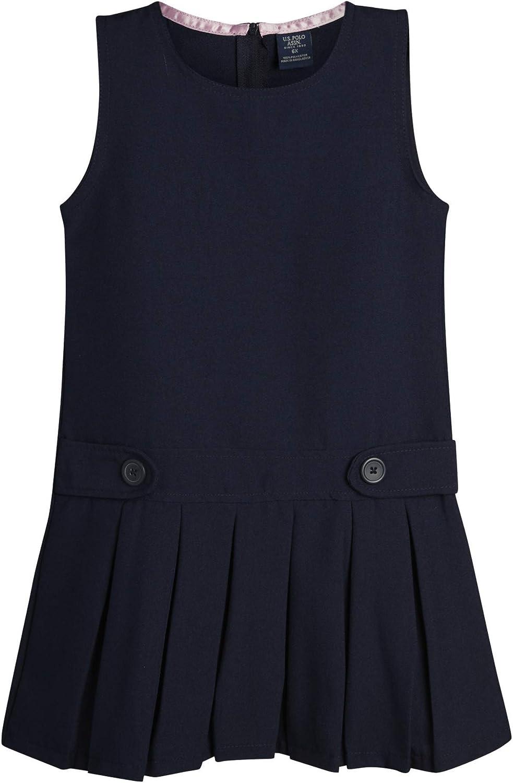 U.S. Polo Assn. Girls' School Jumper Uniform - Max 40% OFF D Sleeveless unisex