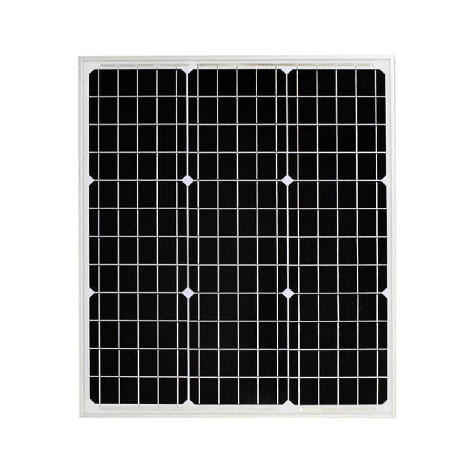 決して手配する追い付く高効率 単結晶 ソーラーパネル 60W!太陽光発電 エコ 節約 12V蓄電に