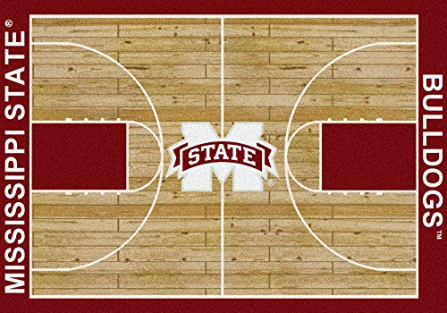 American Floor Mats Mississippi State Bulldogs NCAA College Home Court Team Area Rug 10