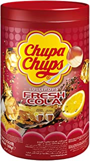 Chupa Chups Cola Lollipops, Pack of 100  x 12  g