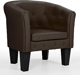 Merveilleux Homelux Chesterfield Sessel, Aus Pflegeleichtem Kunstleder Und Holz, Mit  Rautenmuster, Farbwahl, Lounge