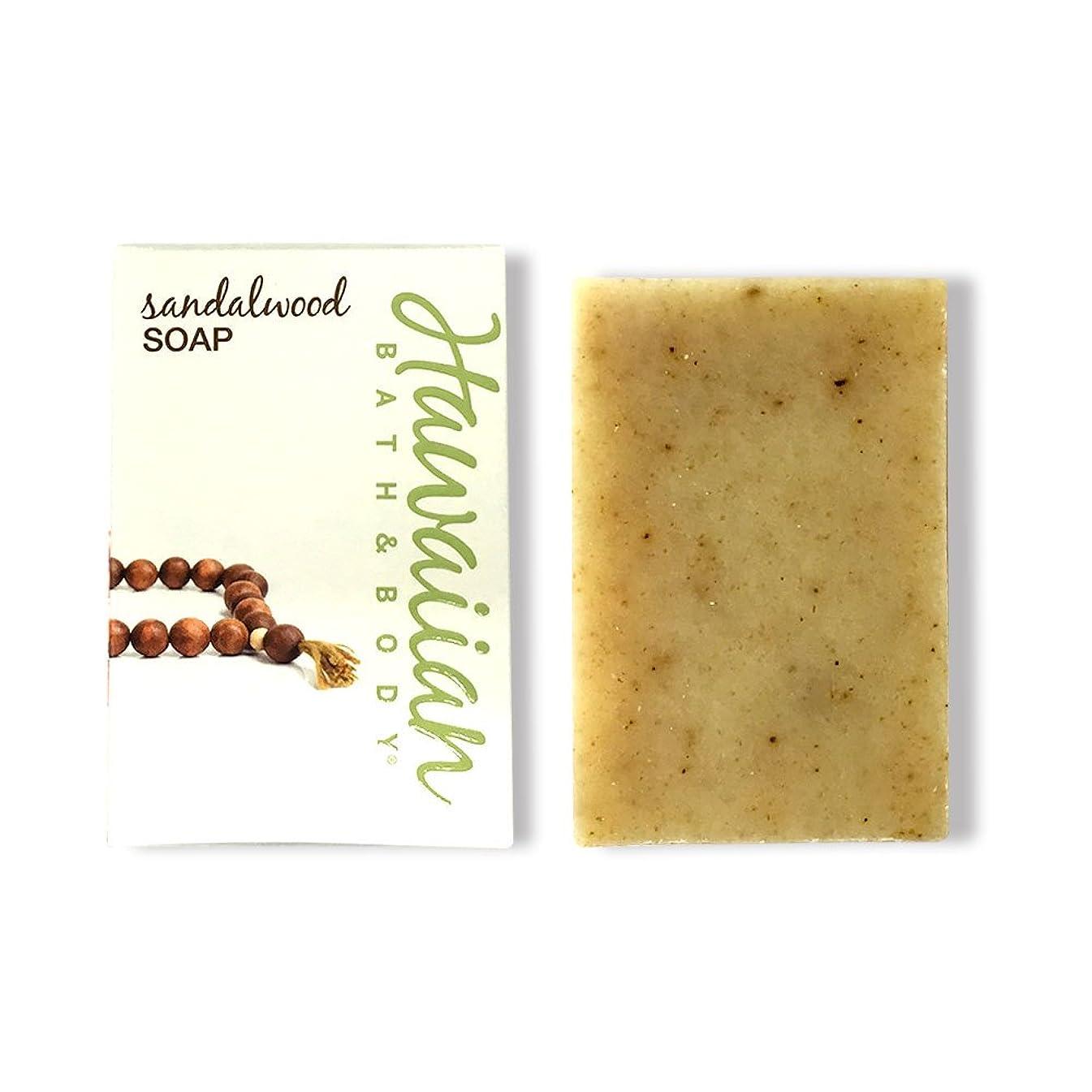 解読する一般化する聴覚ハワイアンバス&ボディ サンダルウッドソープ ( Sandalwood Soap )