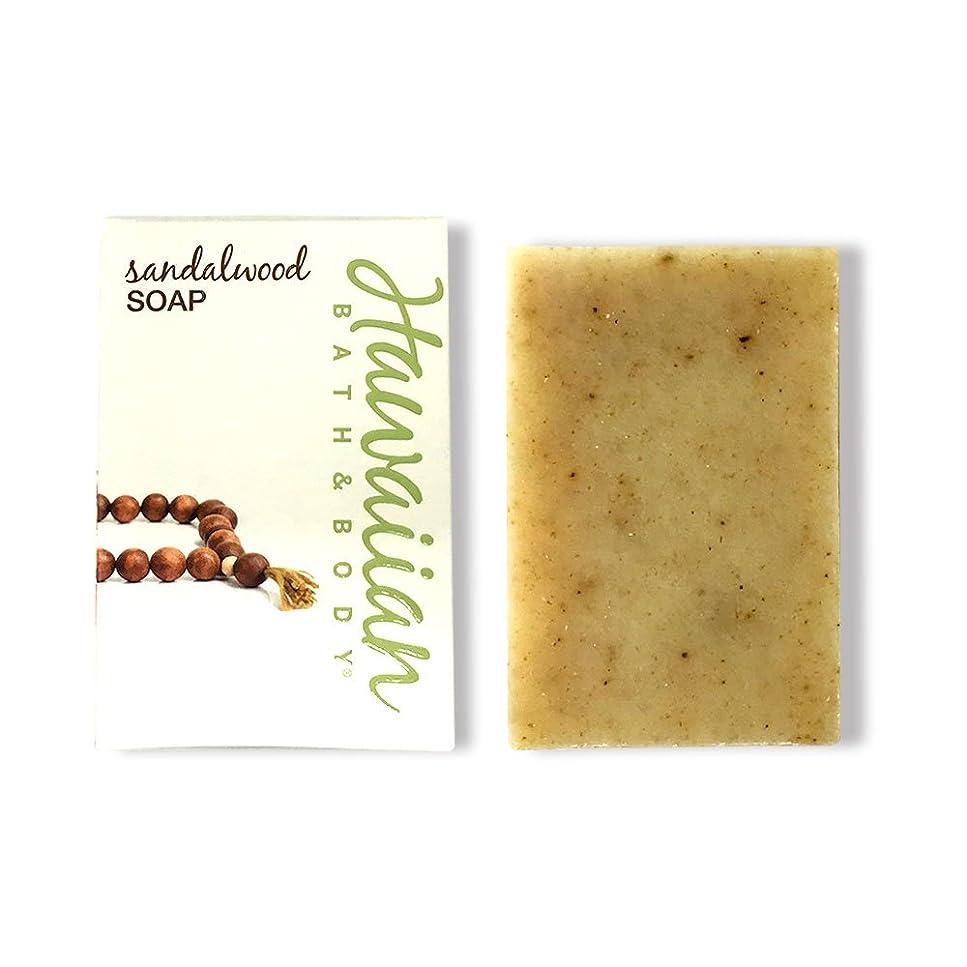 貧困イブニングマーベルハワイアンバス&ボディ サンダルウッドソープ ( Sandalwood Soap )