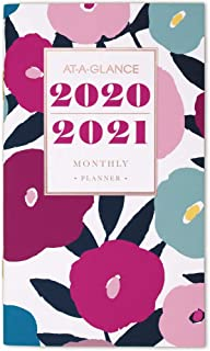 AT-A-GLANCE 2020-2021 Monthly Pocket Planner, 2 Year, 3-1/2