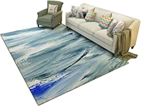 Modern Rugs, Modern Minimalist Style for Living Room Sofa Coffee Table Rug Computer Chair Nordic Bedroom Bedside Rectangle...